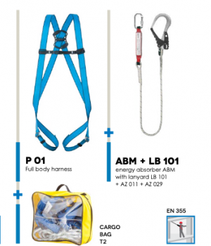 basic kit 4 for fall protection