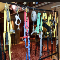 msa safetic showcase show trade belts fall protection
