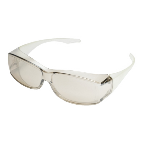clear vue msa safety goggles no bg